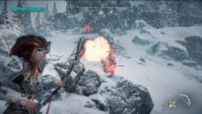Сломанная машина Horizon: Zero Dawn - Frozen Wilds DLС [PS4 Pro] [BlackSilverUFA]