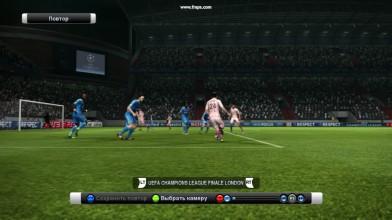 Pro Evolution Soccer 2012 - Гол пяткой