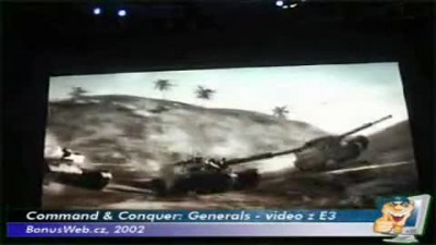Command & Conquer: Generals E3 video