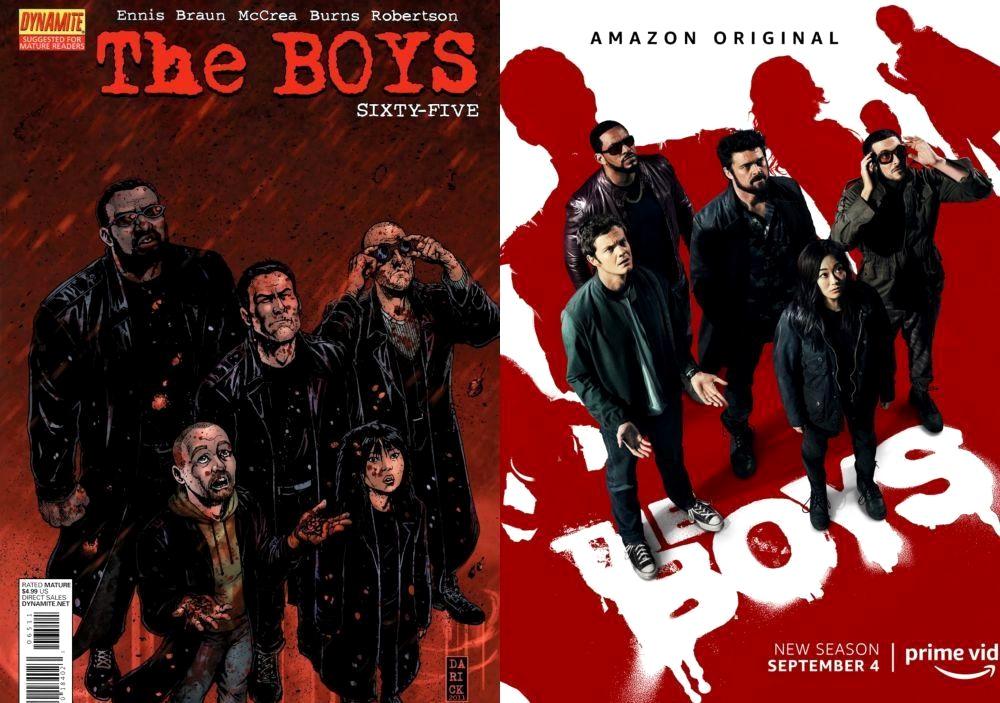 Штормфронт в новом видео второго сезона сериала The Boys