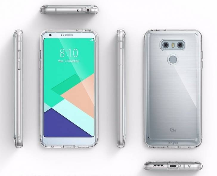 Флагманский смартфонLG G6 нановых фото