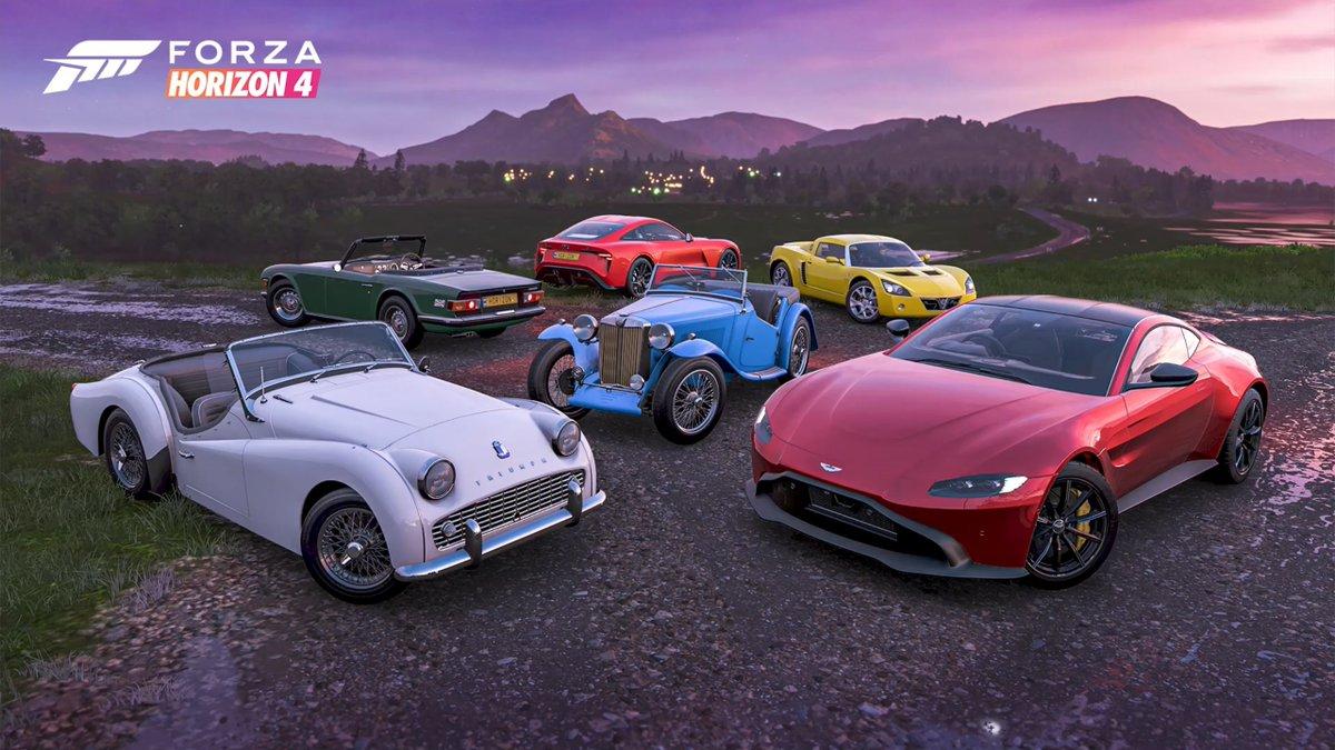 Вышло 26 обновление для Forza Horizon 4