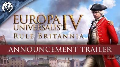 Анонс нового DLC Rule Britannia для Europa Universalis IV