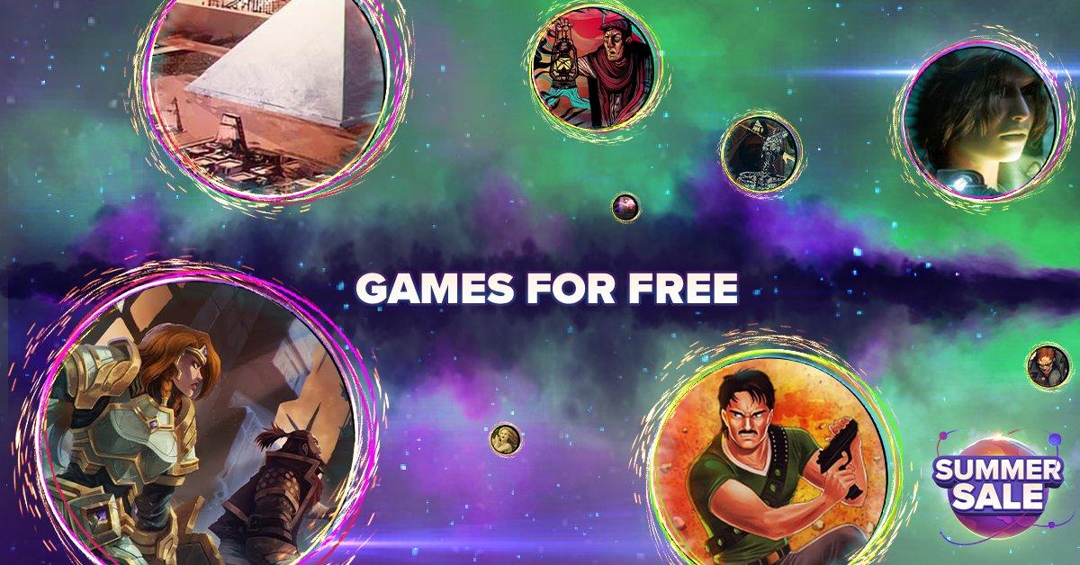 В GOG бесплатно раздают 3 игры