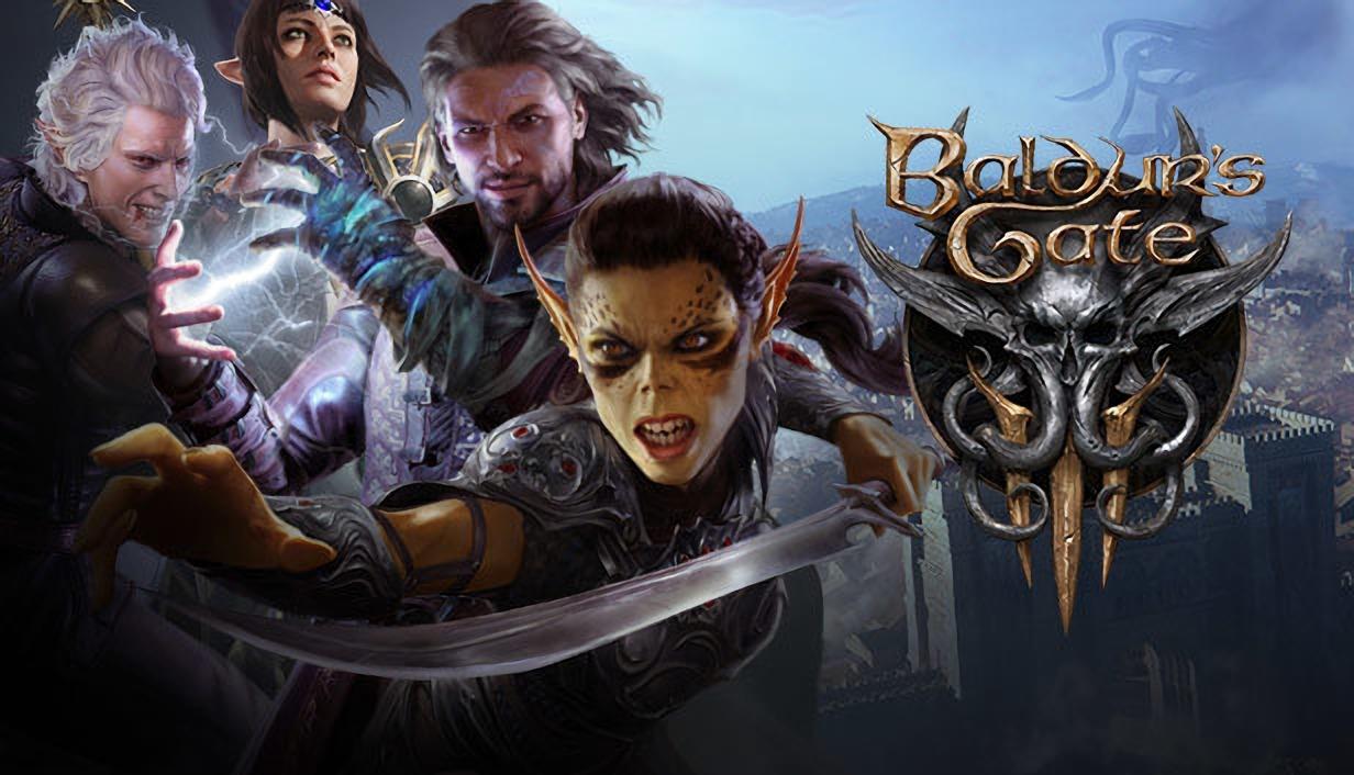 Baldur's Gate 3 вошла в Топ-3 самых желанных игр в Steam