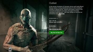 Сегодня в северо американском сегменте Xbox Store вышел Outlast для Xbox 360 и Xbox One