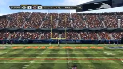 "Madden NFL 12 ""Soldier Field Demo Gameplay"""