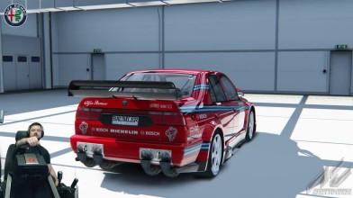 "Assetto Corsa ""Гонка DTM 90x на великолепной Alfa Romeo 155 V6 TI - Monza - Assetto Corsa + Fanatec CSL Elite"""