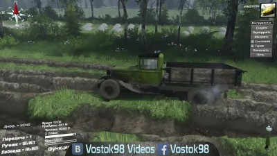 Spintires Full Version - ГАЗ-ММ