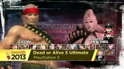 "Dead or Alive 5 Ultimate ""Геймплей E3 2013 Leon vs. Rachel"""