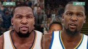 Сравнение NBA 2K16 vs. NBA 2K17 (Candyland)