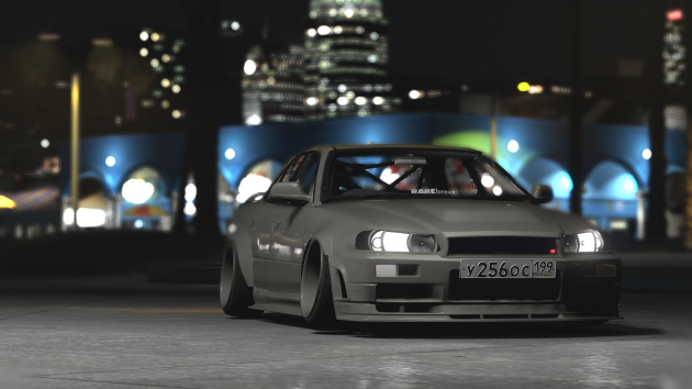 Nissan Skyline R34 GTT Clinched Widebody