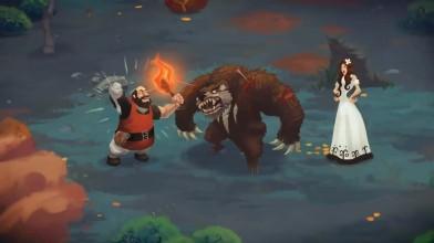 Анонсирующий трейлер новой игры от издателя Versus Evil - Yaga