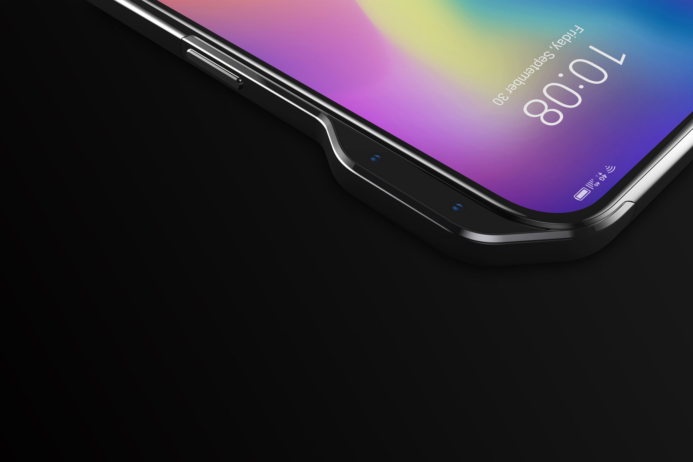 ZTE выпустит смартфон с выступом в корпусе вместо выреза в экране