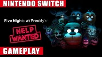 Геймплей Switch-версии Five Nights at Freddy's: Help Wanted