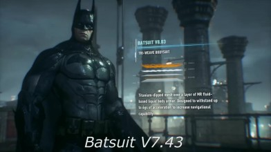 Все костюмы Бэтмена в серии игр Batman Arkham