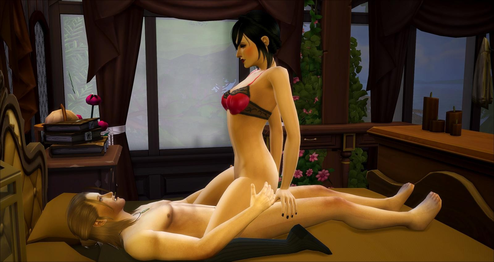 The sims cartoon porn smut pic
