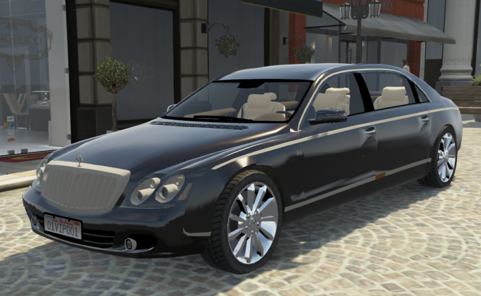Bf631f maybach62s gtav modification