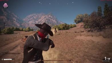 Перестрелки верхом на лошадях в Wild West Online