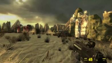 Геймплей мода Dark Interval для Half-Life 2