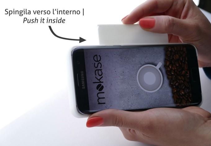 Чехол Mokase превращает смартфон вкофеварку