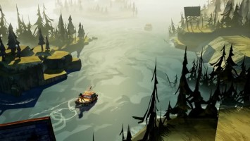 "Flame in the Flood ""PS4-трейлер"""
