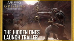 "Релизный трейлер дополнения ""Незримые"" для Assassin's Creed: Origins"