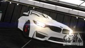 BMW M4 F82 2015 для GTA 4 вид слева