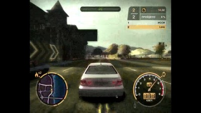 "Need for Speed: Most Wanted (2005) ""прохождение. босс N12 (1 гонка) на стоковой машине"""