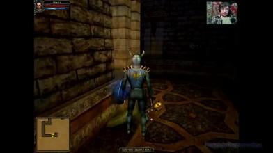 Dungeon Lords - Качаемся до повелителя смерти 19. Реликвия в Храме Нага (прохождение на русском)