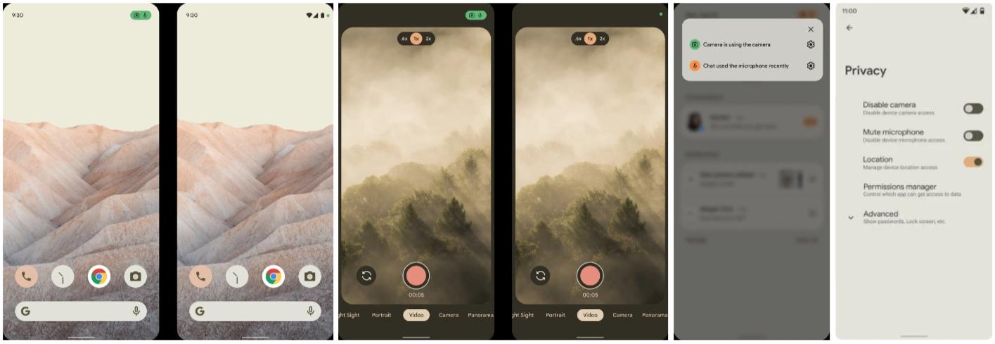 Утечка дизайнерского макета Android 12 раскрывает серьезные визуальные изменения и новые функции