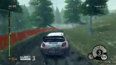 """WRC 3 """"Геймплей в Уэльсе"""""""