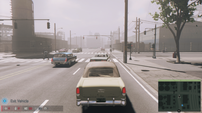 Mafia 3 NO REAR VIEW MIRROR or SPEEDOMETER