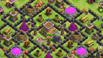 Моя история игры Clash of Clans (2014 - 2016) Stewen Games