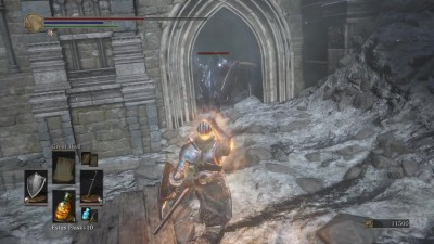 Первые 10 минут Dark Souls 3: The Ringed City