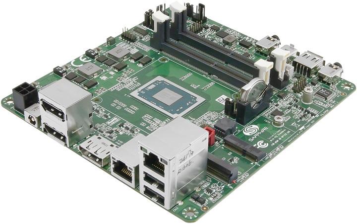 Sapphire FS-FP5R - очень компактная системная плата с распаянной новейшей SoC AMD