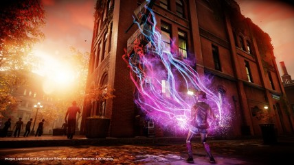 4К скриншоты inFamous: First Light с PS4 Pro