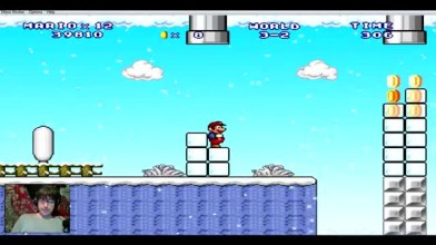 (Mario Forever) Mario Worker Remake (3.0) - Episode by Alex D. - 3. Снежный бред (на русском)