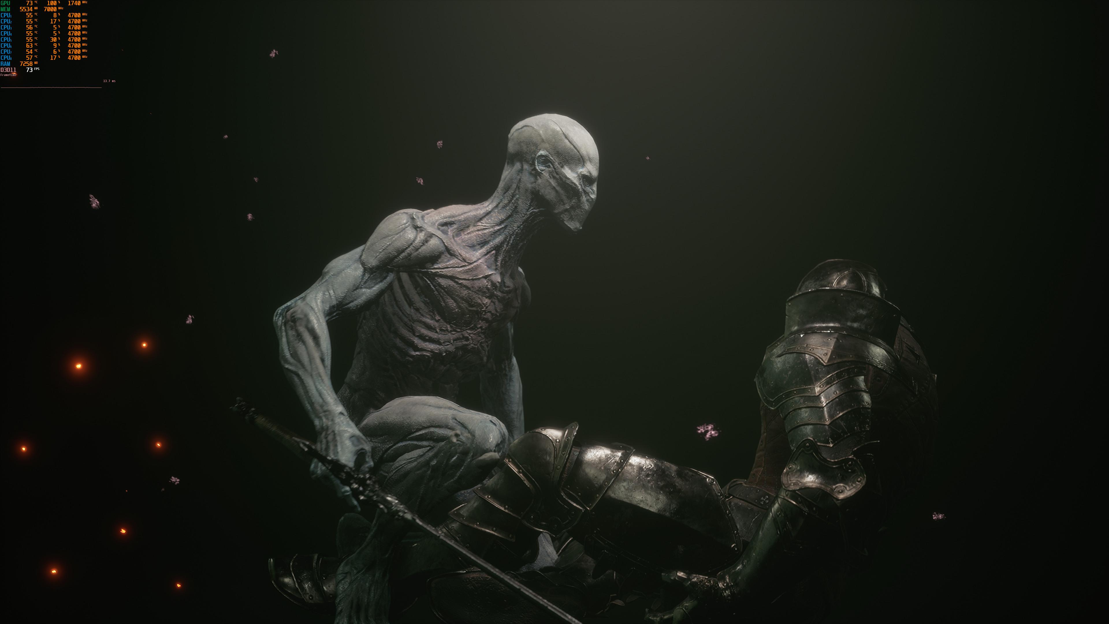 Скриншоты беты Mortal Shell в 4K/Ультра