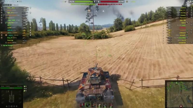 World of Tanks - Прохоровка! 13200 тыс урона по засвету!