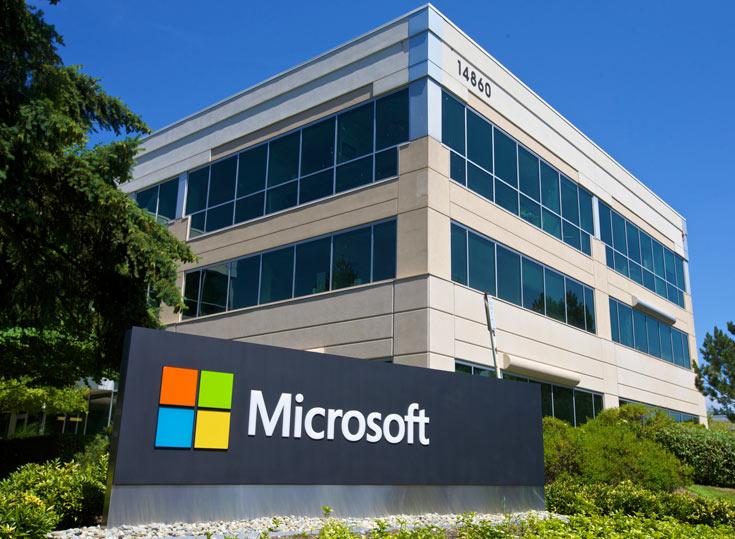 Заработок Microsoft в прошлом квартале достиг 22,1 млрд долларов