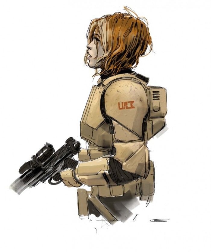 Jyn Erso in Armor Version 1