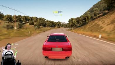 Изи катка с непобедимыми ботами на божественной BMW 850CSi - Forza Horizon 2 на руле Logitech G920