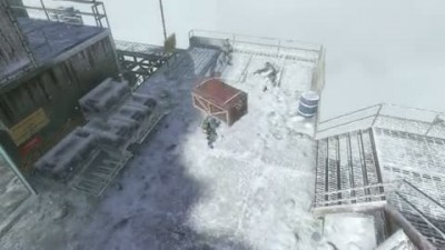 "Call of Duty: Black Ops ""Container Suicide"""
