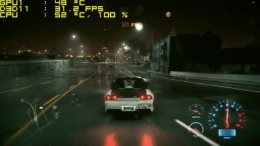 Need For Speed 2016 - NVidia GeForce GTX 750 - Core i3 6100 - 8GB RAM