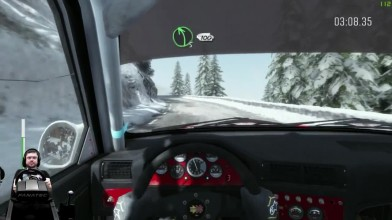 Соний тащит финал Монако Монте-Карло на BMW M3 E30 Dirt Rally на руле Fanatec CSL Elite Wheel