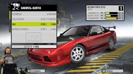 Соний разорвал всех в дрифте на Infiniti G35 Need for Speed: ProStreet на руле Fanatec CSL Elite
