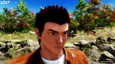 Shenmue 3 E3 2015 vs Gamescom 2017 Trailers Сравнение