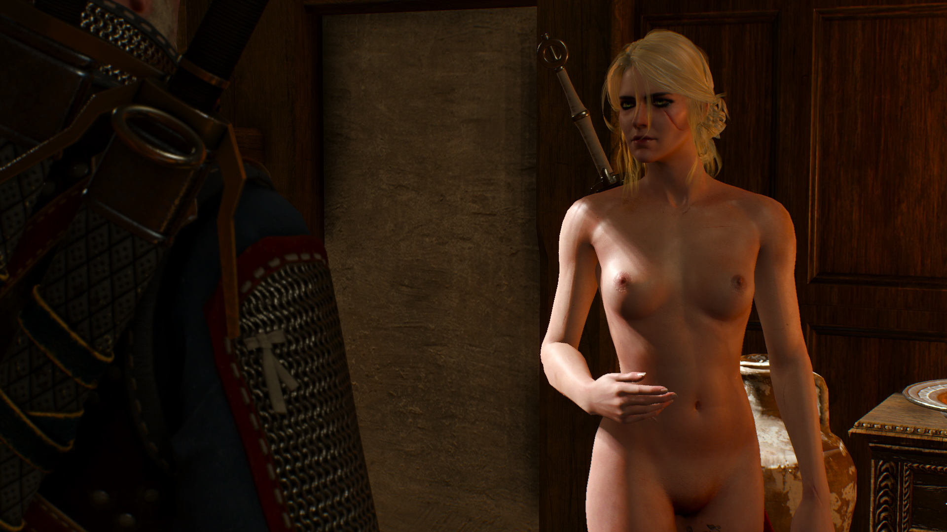 Witcher nude cartoon comic