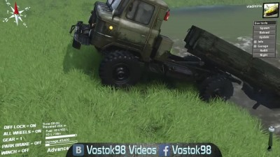 Spintires Full Version - ГАЗ 66П